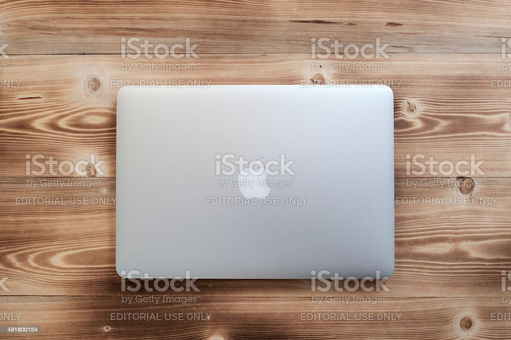Macbook Pro stock photo
