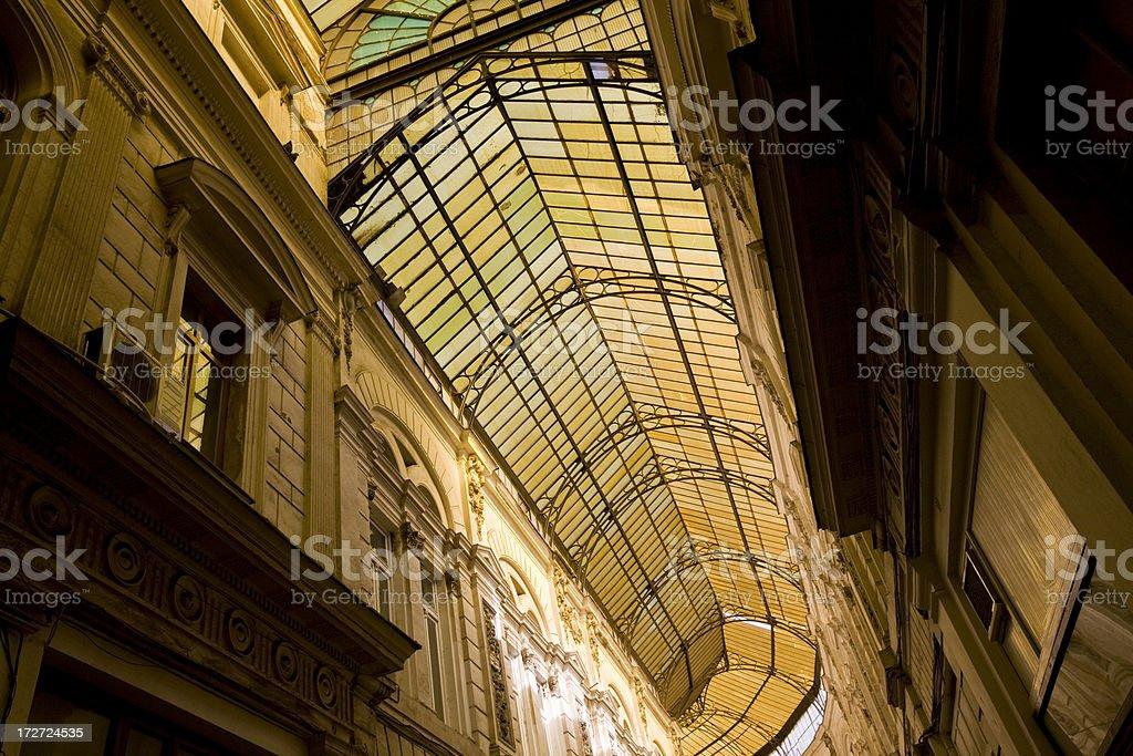 Macca Passage Bucharest royalty-free stock photo