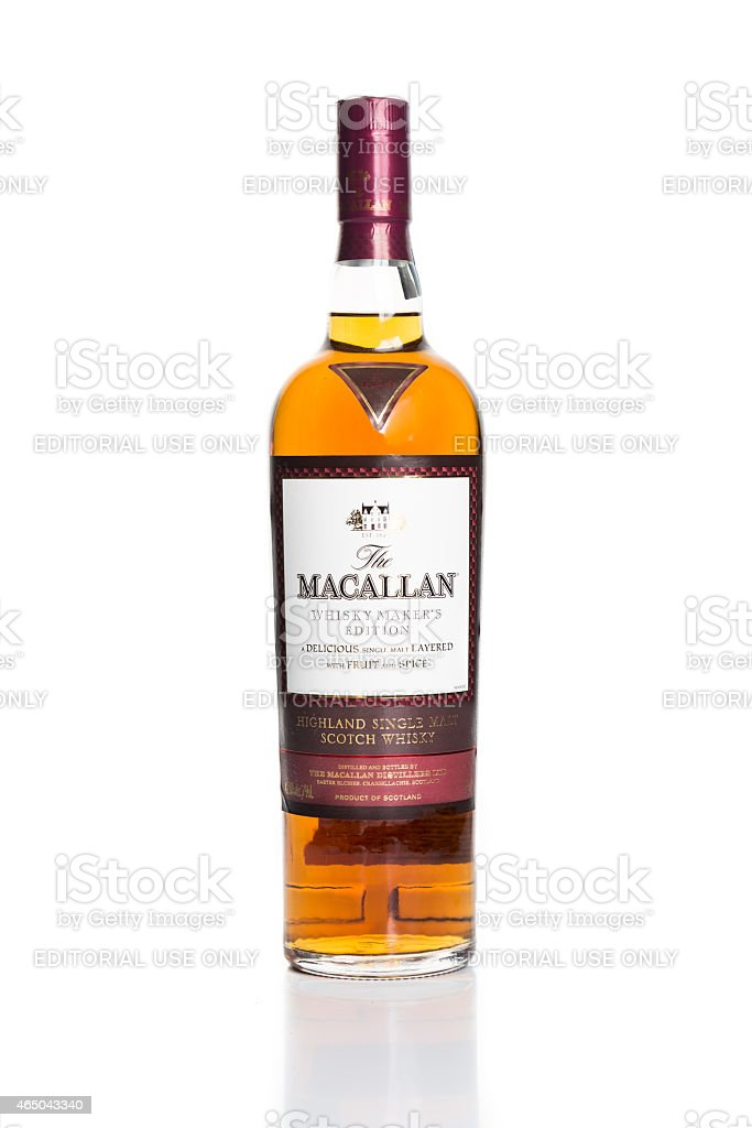 Maccallan, the leading single malt brand in Malaysia stock photo