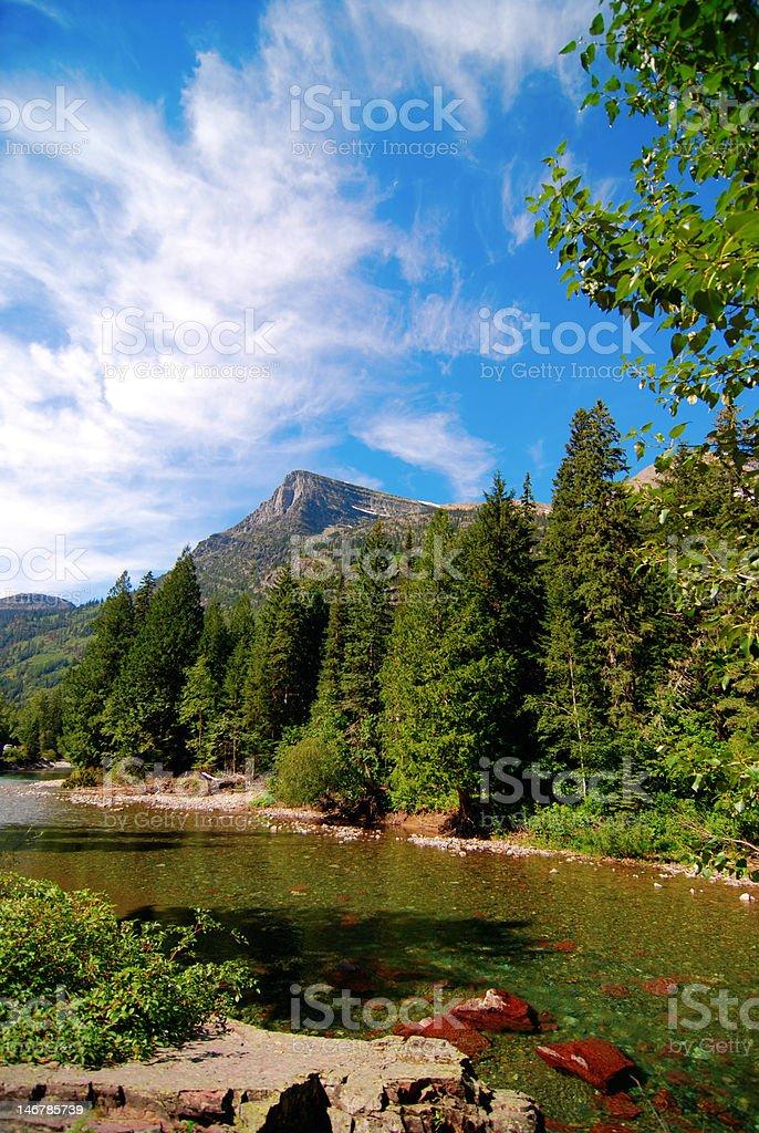 MacDonald Creek stock photo