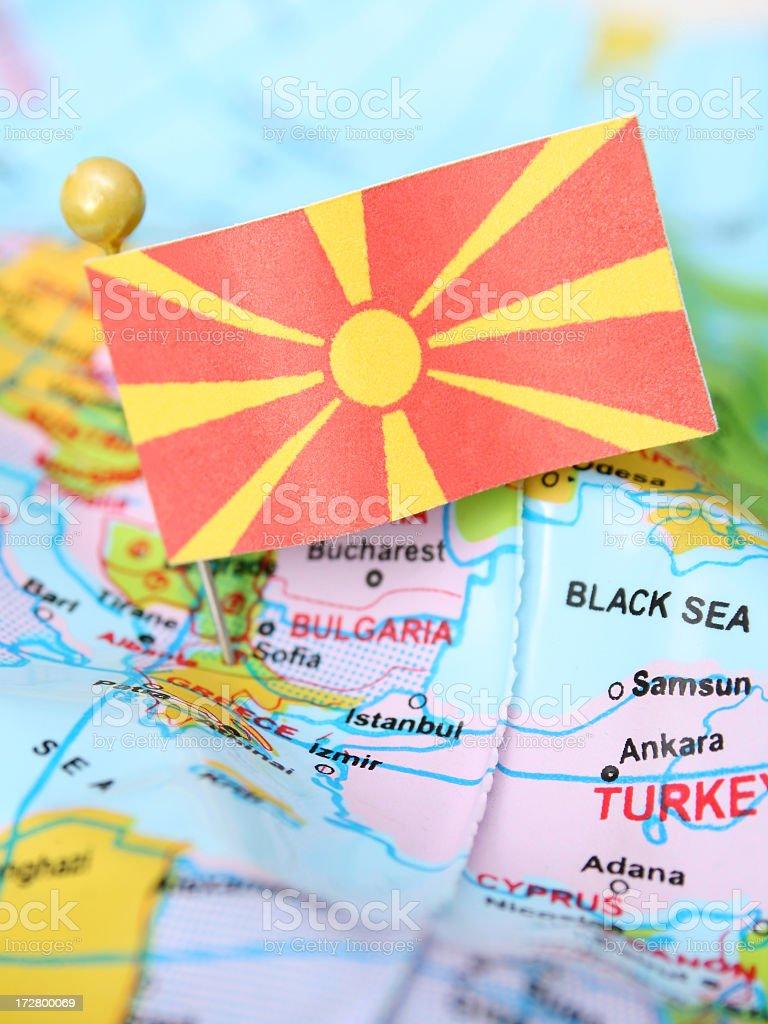 Macedonia stock photo