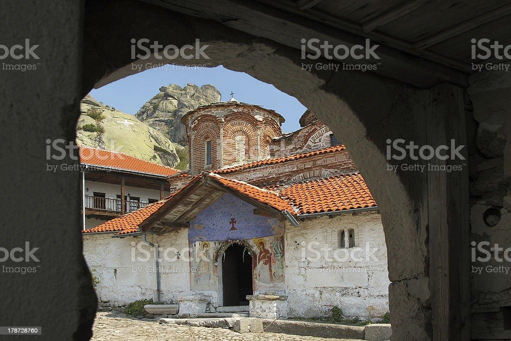 Macedonia, Treskavec Monastery stock photo