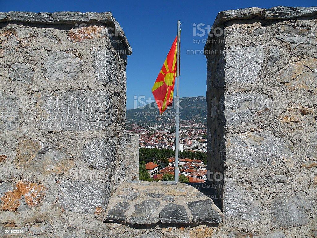 Macedonia Tsar Samuil stock photo