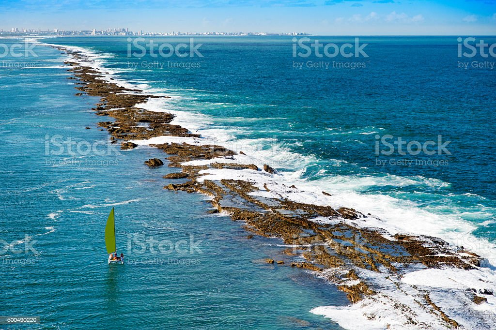 Maceio coastal region, stock photo