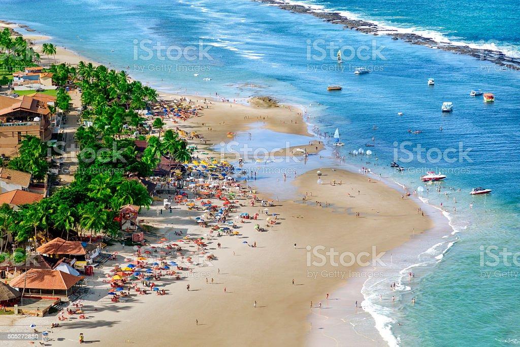 Maceio, northeast of Brazil stock photo