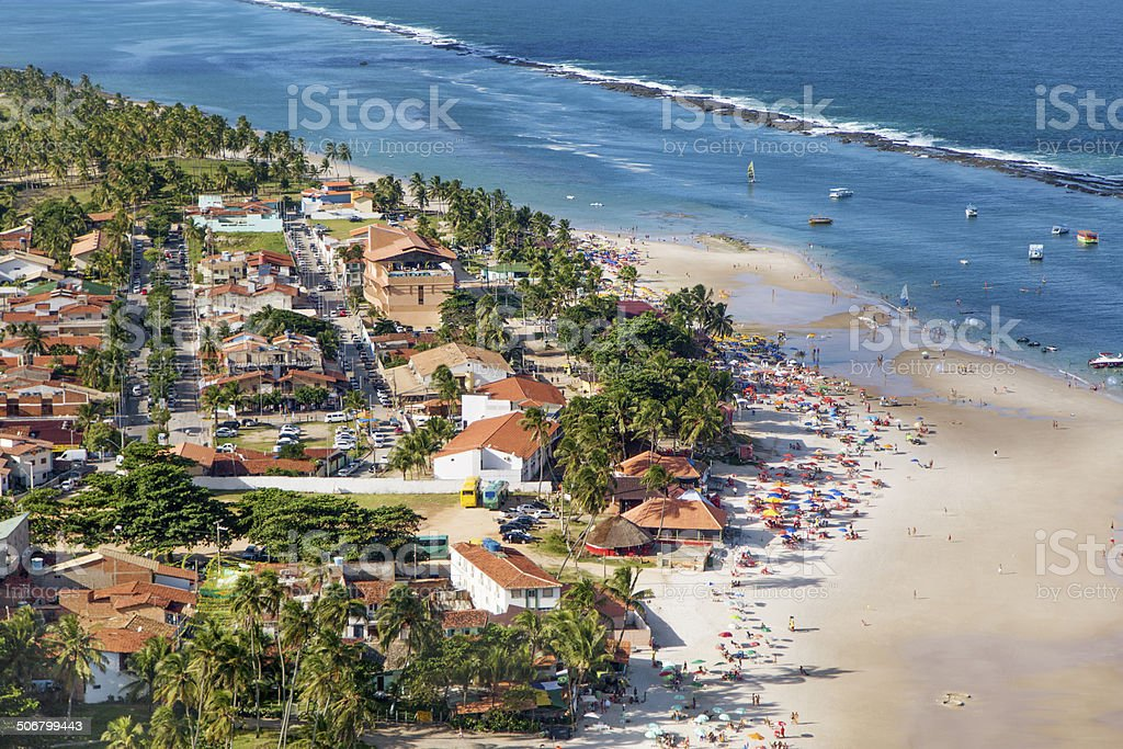 Maceio, northeast of Brazil royalty-free stock photo