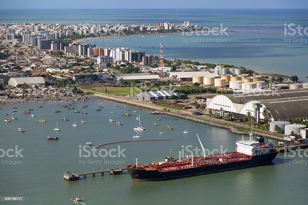 Maceio, northeast of Brazil royalty-free stock photo