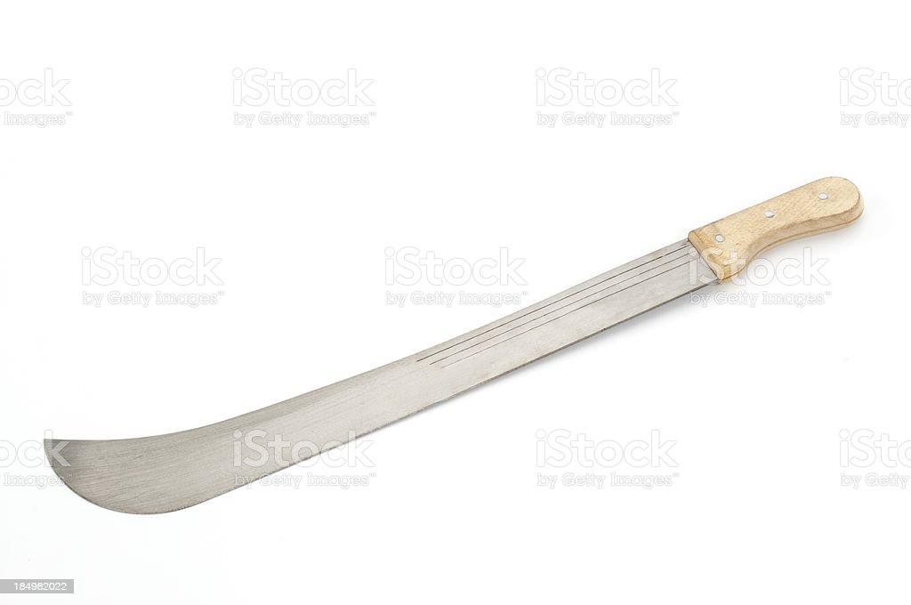 Machete royalty-free stock photo