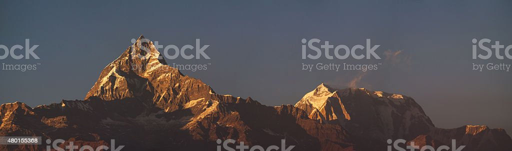 Machhapuchhre stock photo