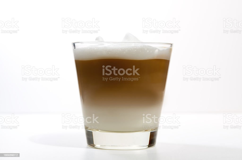 Latte machiato royalty-free stock photo