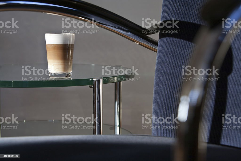 Latte Machiato stock photo