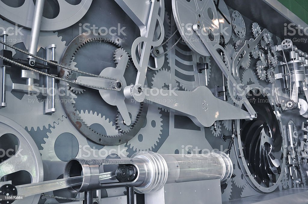 machine components stock photo
