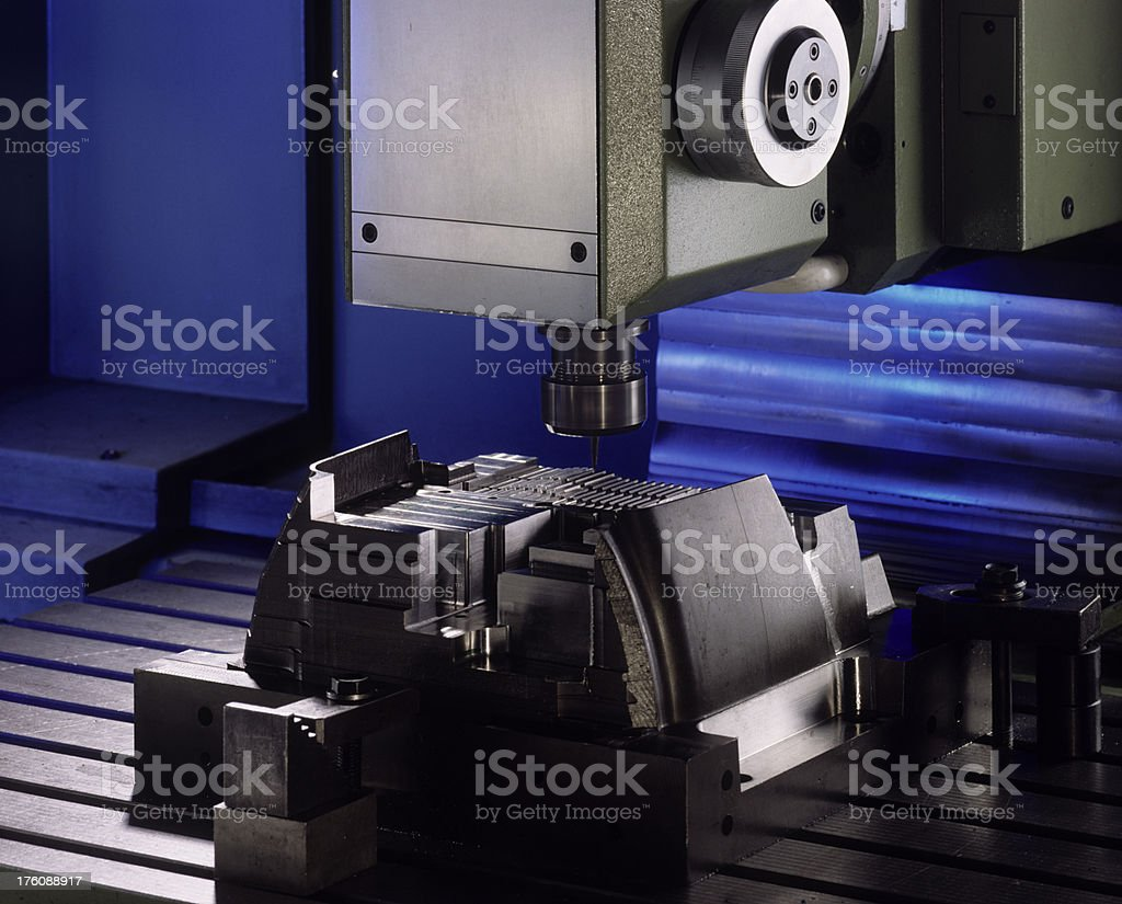 Machine detail stock photo