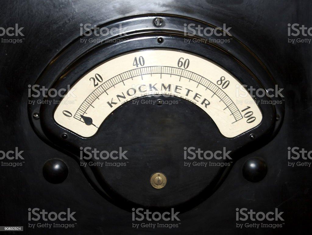 Machine Dial royalty-free stock photo