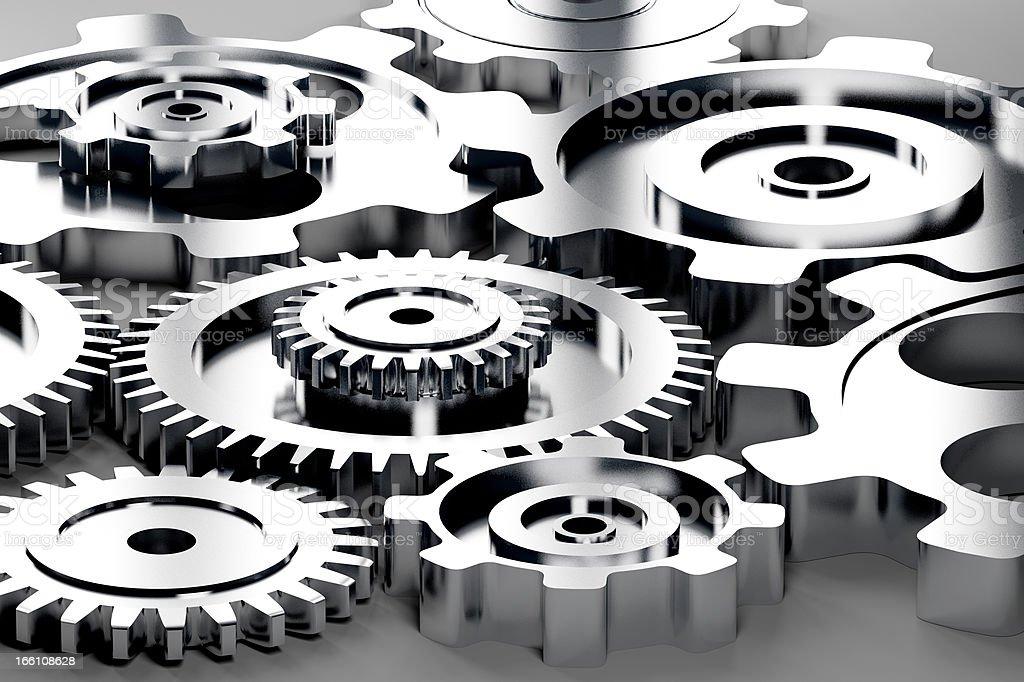 Machine Gears royalty-free stock photo