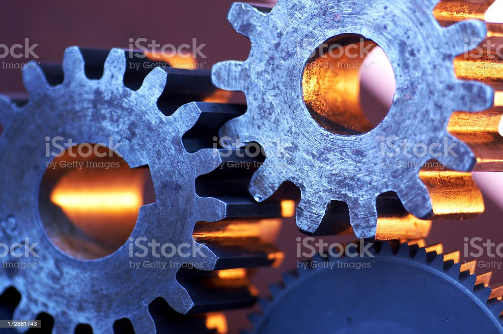 machine gears royalty-free stock photo