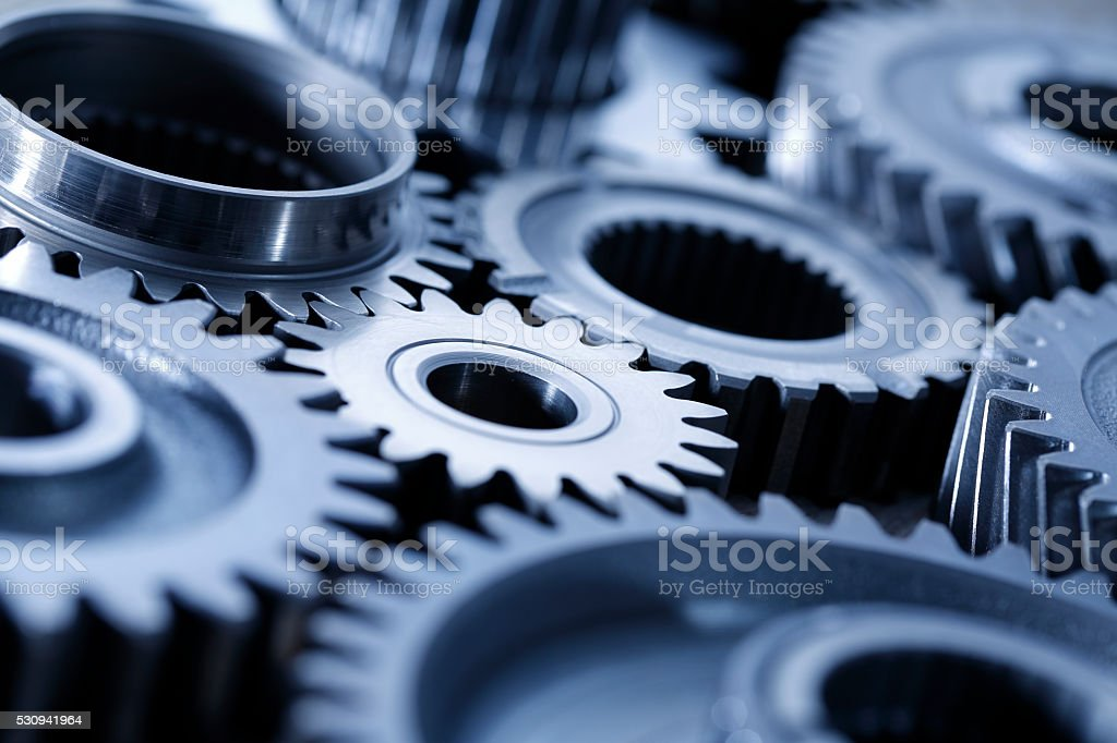 Machine Gears stock photo