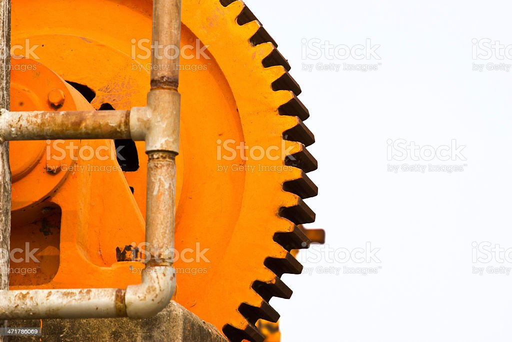machine gearwheel royalty-free stock photo