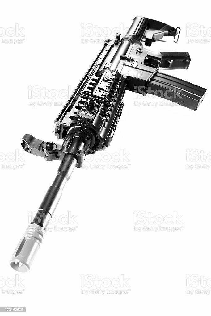 machine gun royalty-free stock photo