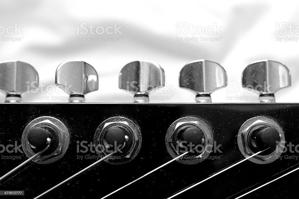 Machine heads stock photo