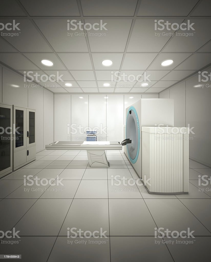 Machine in hospital royalty-free stock photo