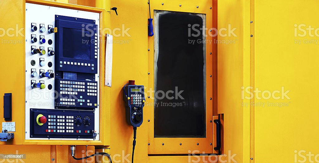 Machine Part. Color Image royalty-free stock photo