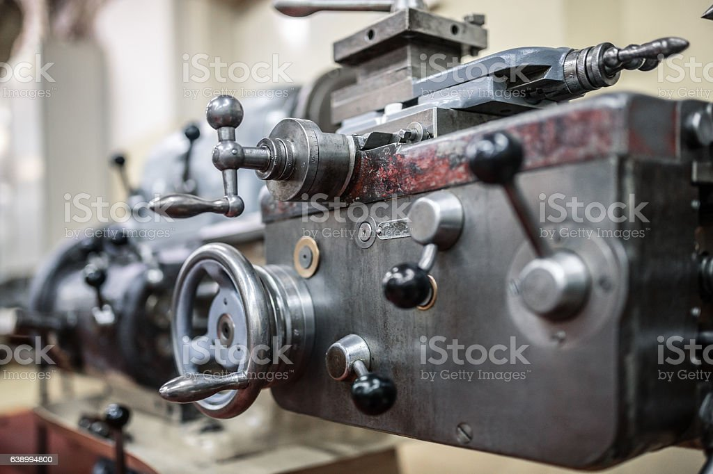 Machine part stock photo
