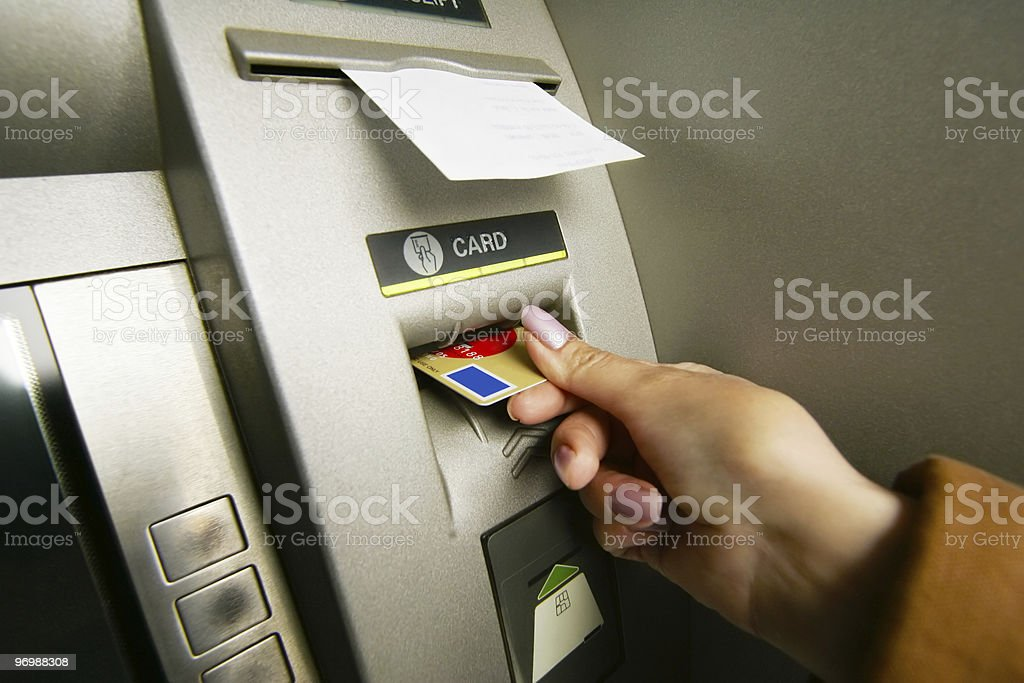 ATM Machine royalty-free stock photo