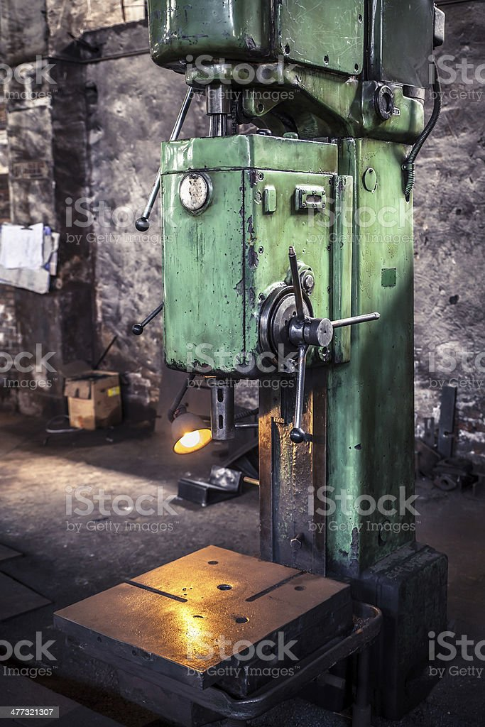 machine tool equipment royalty-free stock photo