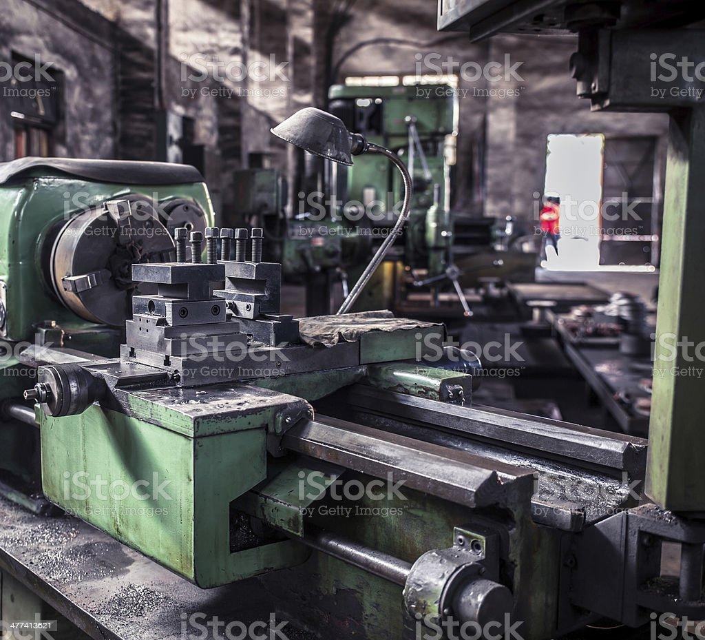 machine tool equipment royalty-free stock photo