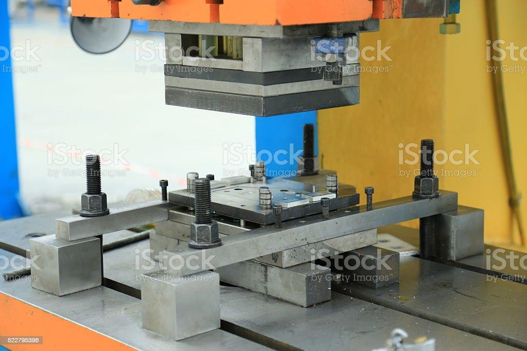 Machine tool stock photo