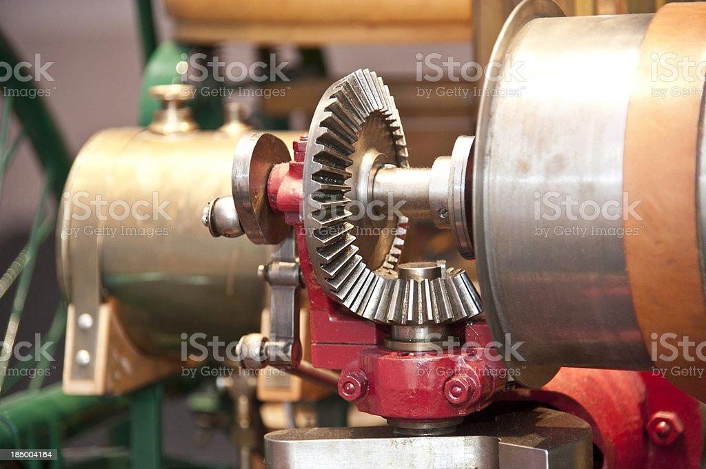 machine vintage look stock photo