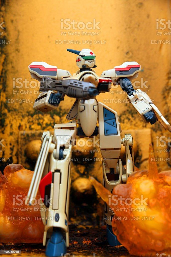 Machine Wars stock photo
