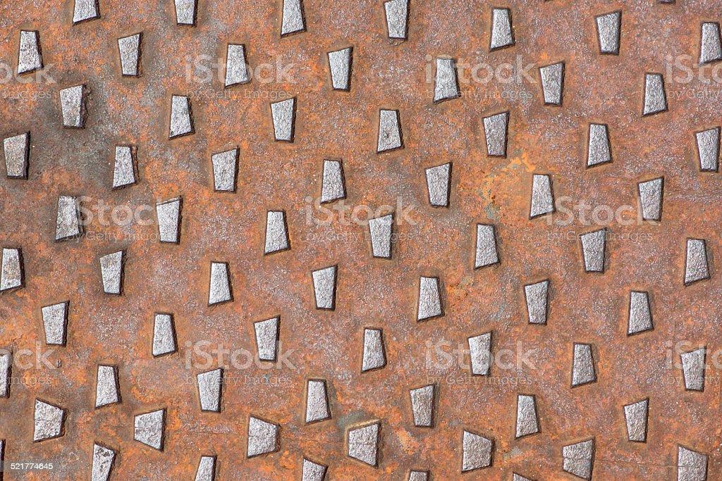 machined cast iron royalty-free stock photo