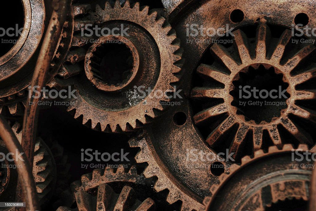 Machinery and equipment royalty-free stock photo