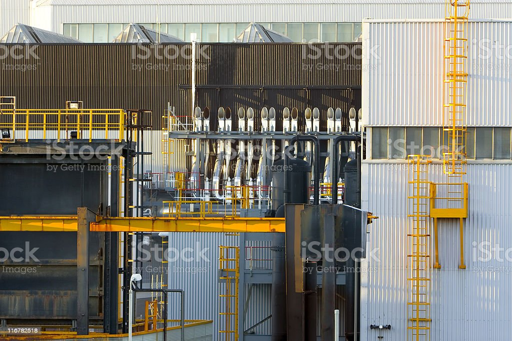 machinery building royalty-free stock photo