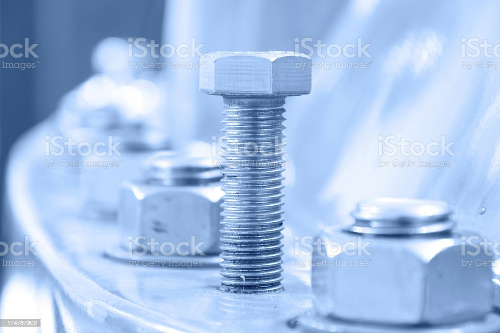 Machinery parts royalty-free stock photo