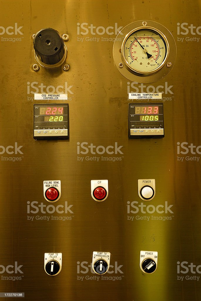 machinery_controller royalty-free stock photo