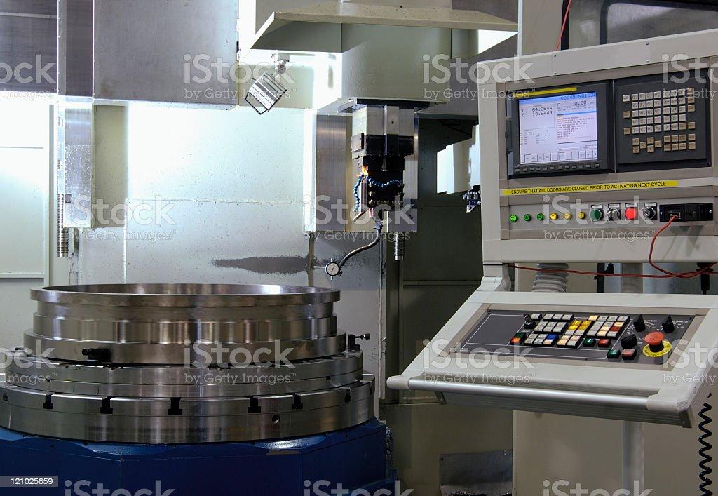 CNC machining tool stock photo