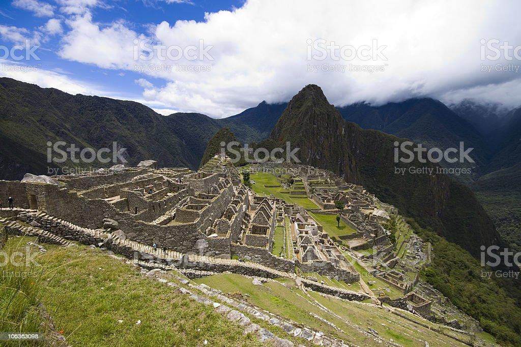 Machu Picchu 3 stock photo