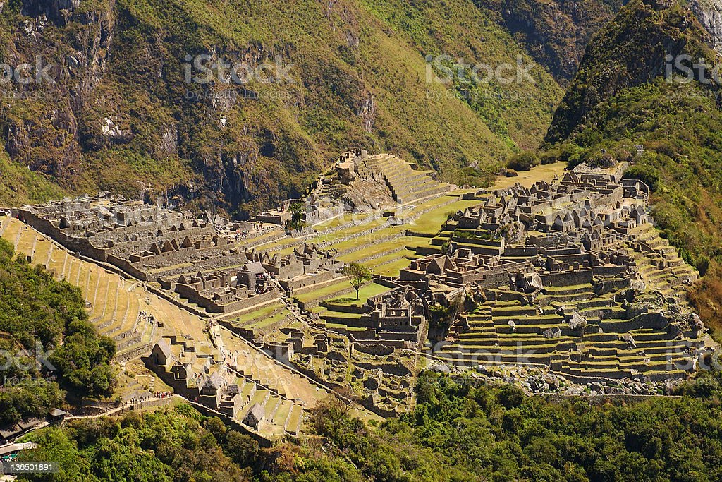 Machu Picchu 3 stock photo