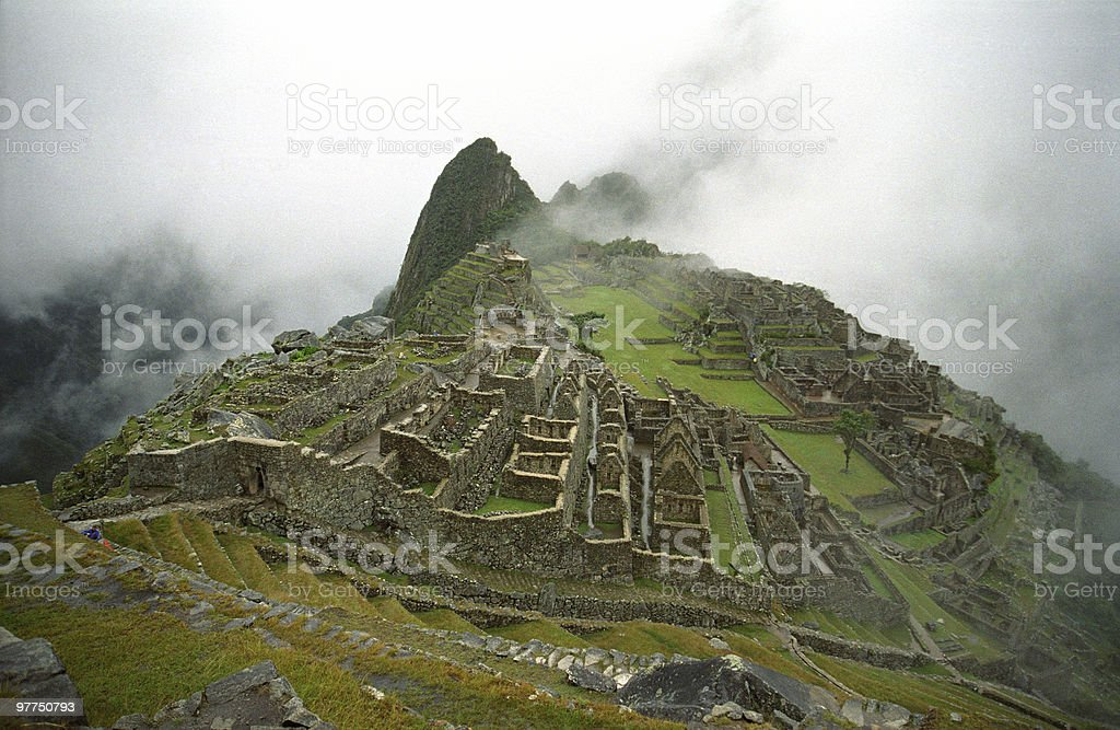 Machu Picchu 3 royalty-free stock photo