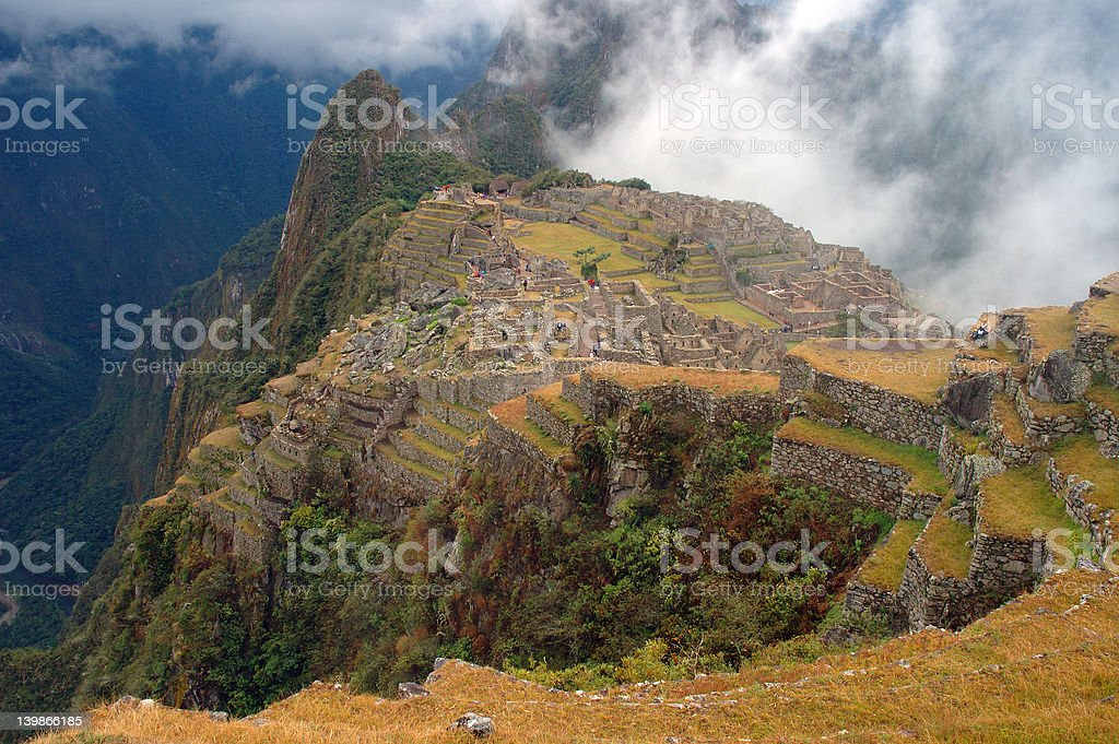 Machu Picchu 5 stock photo