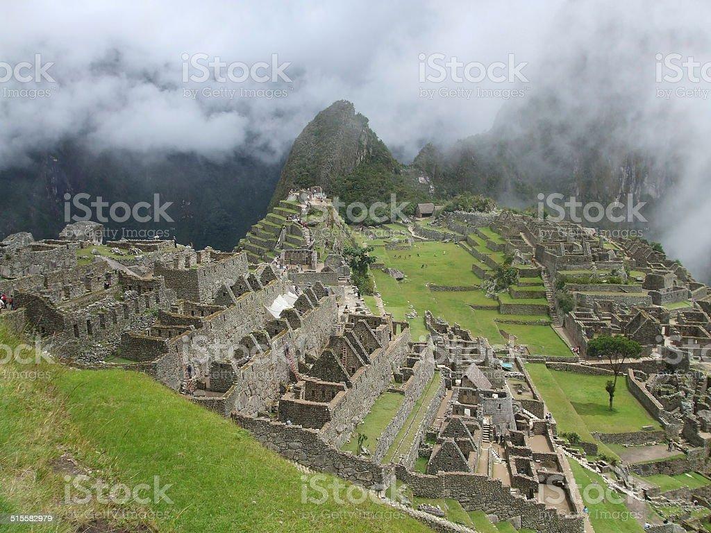 Machu Picchu, Peru 001 stock photo