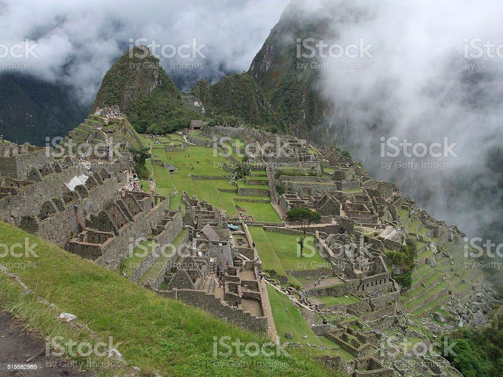 Machu Picchu, Peru 002 stock photo