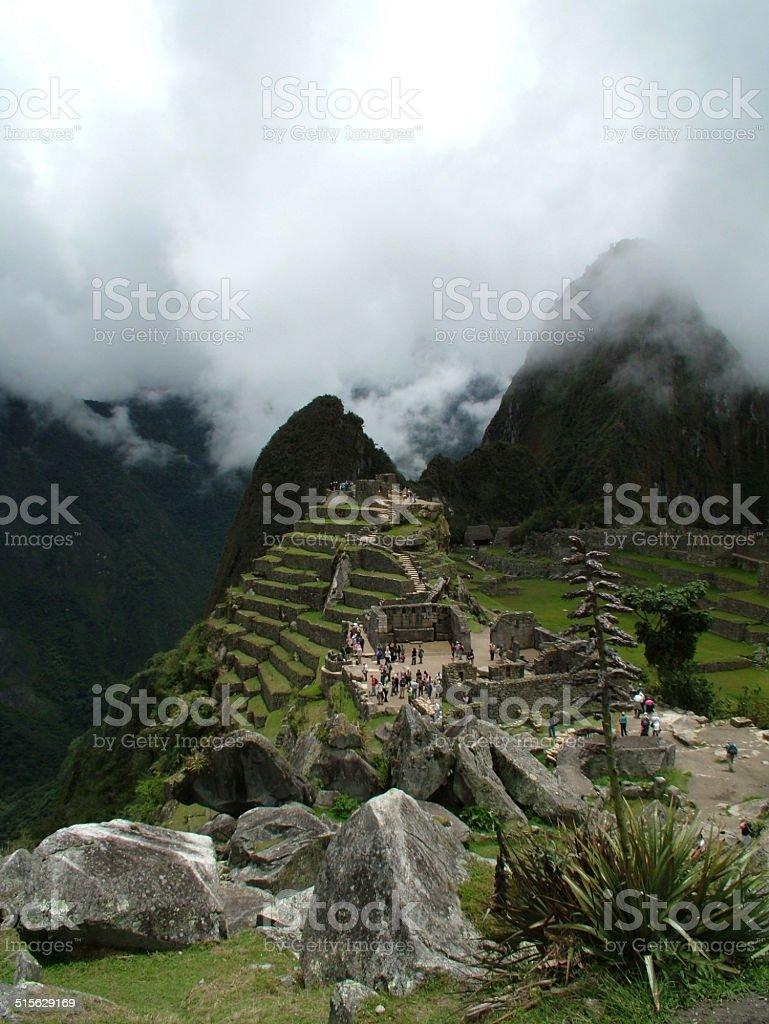 Machu Picchu, Peru 003 stock photo