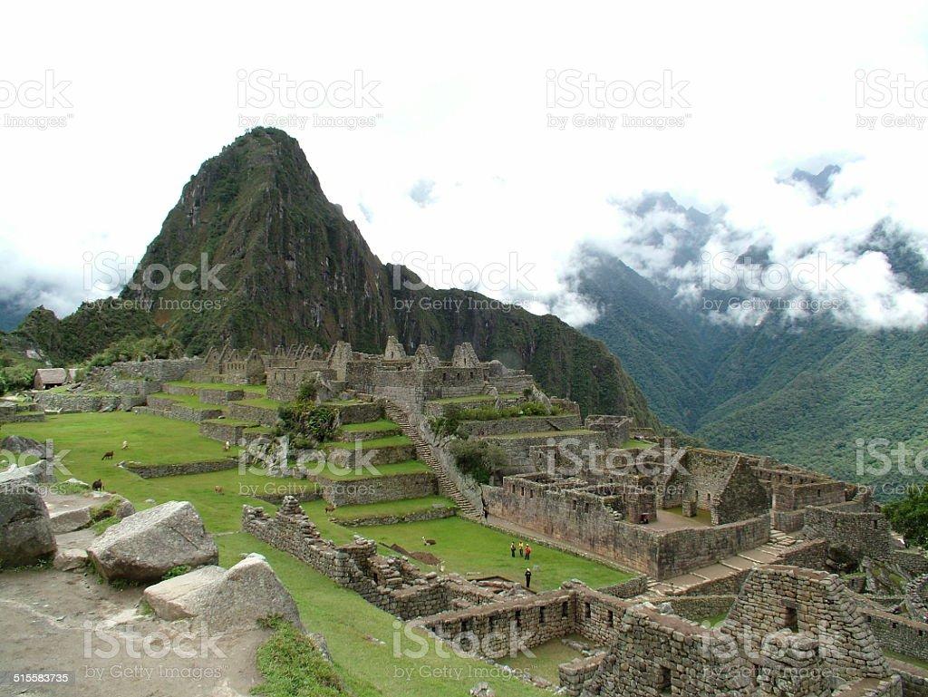 Machu Picchu, Peru 004 stock photo