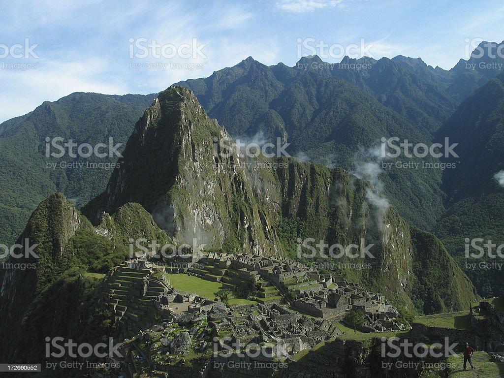 Machu Picchu, Peru stock photo