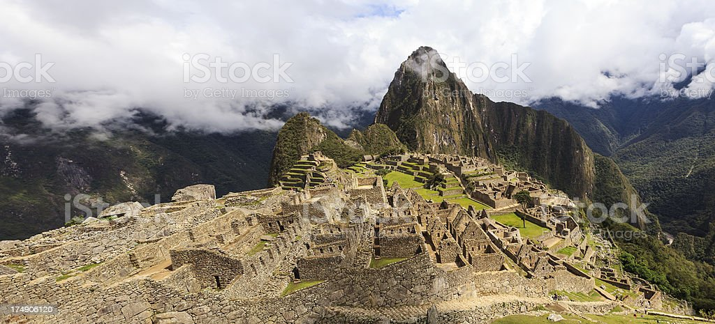 Machu Picchu royalty-free stock photo