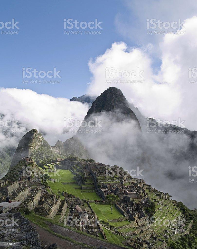 Machu Picchu (Peru) royalty-free stock photo